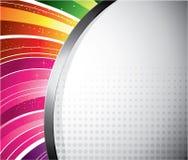 designregnbåge Royaltyfria Foton
