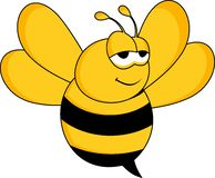 Designs bee concept. Bee vectors are very funny in the form of creative designs for a symbol of the company name or something related to the illustration of a stock photos