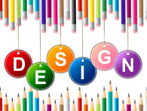Designs Design Shows Models Plans And Layouts Royalty Free Stock Photos