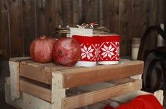 Designs on mugs Royalty Free Stock Image