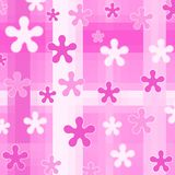Designs on pink Royalty Free Stock Image