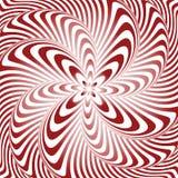 Designstrudelbewegungs-Illusionshintergrund Stockfotografie