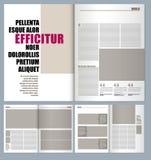Designtidskrift vektor illustrationer