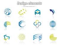 Designuppsättning Royaltyfria Bilder