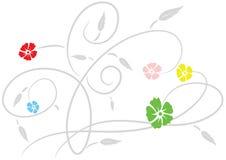 designwallpaper Arkivbild