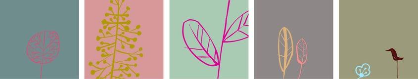 designwallpaper Royaltyfri Bild