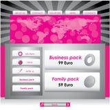 designwebsite stock illustrationer