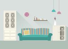 Designwohnzimmer 3 lizenzfreie abbildung
