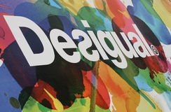 Desigual Logo Royalty Free Stock Photo