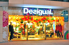 Desigual store in Barcelona Royalty Free Stock Photography