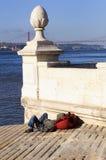 Desilusion en Lisboa imágenes de archivo libres de regalías