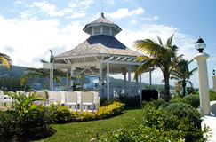 Desination Wedding gazebo 2 Stock Image