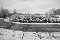Desindustrialización y discontinuación de la industria Fotografía de archivo libre de regalías
