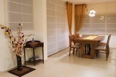 Desing Abendessenraum des Luxus Lizenzfreies Stockbild
