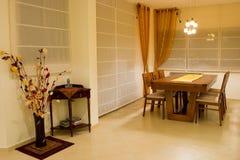 Desing het dinerruimte van de luxe royalty-vrije stock fotografie