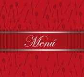 Desing menu restauracja Zdjęcie Stock