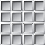 Paper background template squares Stock Photography