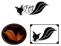Desings dell'illustrazione di Fox Immagini Stock Libere da Diritti