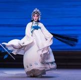 """Desintegração do ato da senhora White Snake-The sétimo do  branco de Opera""""Madame Snake†das famílias-Kunqu foto de stock royalty free"""
