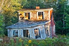 Desintegrando-se na cabeça das corujas, Maine Fotos de Stock Royalty Free