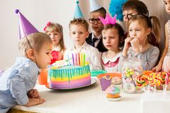 Desire on birthday Stock Images