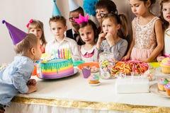 Desire on birthday Stock Photos