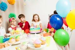 Desire on birthday Stock Image