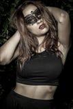 Desire.Girl.Veni ce karnawału maski zakończenia kobieta portrait.in fo fotografia royalty free