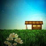 Desire house. For adv or others purpose use Stock Photography
