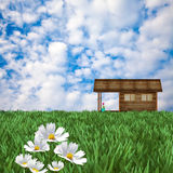 Desire house. For adv or others purpose use Royalty Free Stock Photo