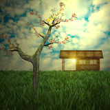 Desire house. For adv or others purpose use Stock Image