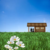 Desire house. For adv or others purpose use Stock Images