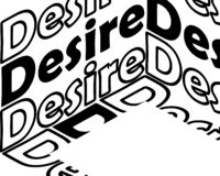 Desire inscription. Inspirational quote, motivation. Typography for t shirt, invitation, greeting card sweatshirt printing and. Embroidery. Print for tee. There stock illustration