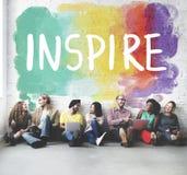 Desire Inspire Goals Follow Your träumt Konzept lizenzfreie stockfotos
