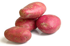 Desiree potato Stock Photo