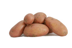 Desiree potatoes Royalty Free Stock Image