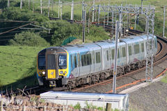 Desiro class 350 electric multiple unit on WCML Royalty Free Stock Image