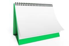 Desk Blank Calendar Stock Image