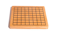 Desk for board game Go Stock Images
