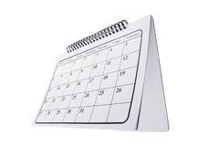 Desk Calendar Royalty Free Stock Photography