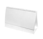 Desk calendar business Stock Images