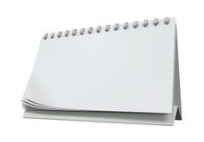 Desk Calendar Isolated Stock Image