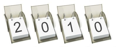 Desk Calendars Royalty Free Stock Photo