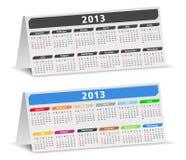 Desk calendars Stock Image