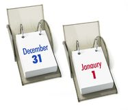 Desk Calendars Stock Photo