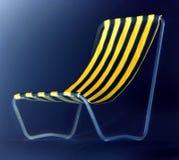 Desk chair. Digital elaboration Royalty Free Stock Photos