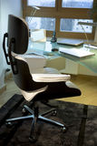 Desk and chair Stock Images
