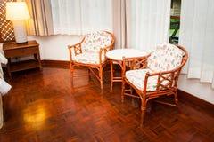 Desk chair royalty free stock photos