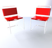 Desk chairs Stock Photo