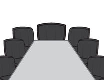 Desk Conference Room Royalty Free Stock Images